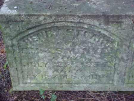 NYE, HENRY STUART - Meigs County, Ohio   HENRY STUART NYE - Ohio Gravestone Photos