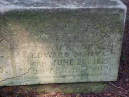SPILLER NYE, MATILDA - Meigs County, Ohio | MATILDA SPILLER NYE - Ohio Gravestone Photos