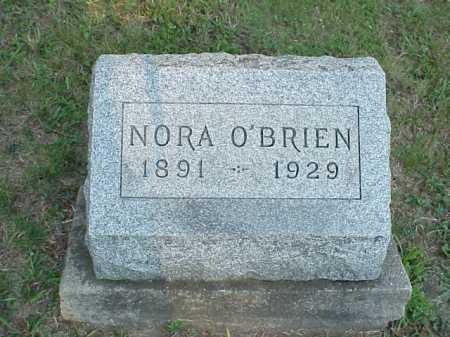 O'BRIEN, NORA - Meigs County, Ohio | NORA O'BRIEN - Ohio Gravestone Photos