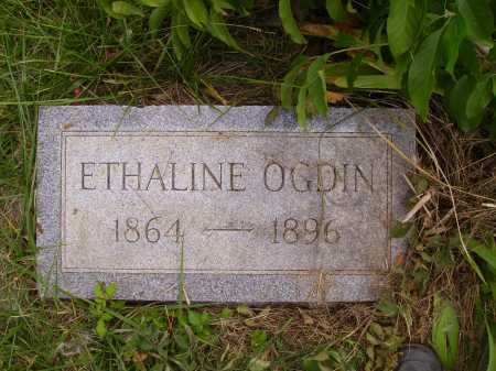 OGDIN, ETHALINE - Meigs County, Ohio | ETHALINE OGDIN - Ohio Gravestone Photos