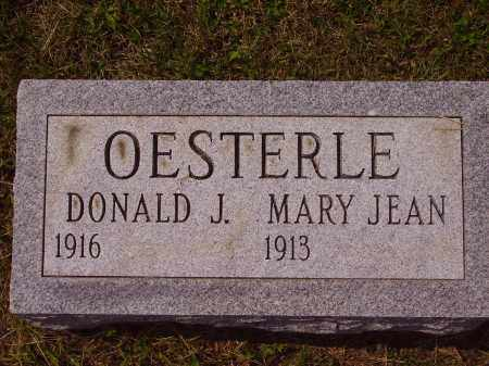 OESTERLE, DONALD J. - Meigs County, Ohio | DONALD J. OESTERLE - Ohio Gravestone Photos