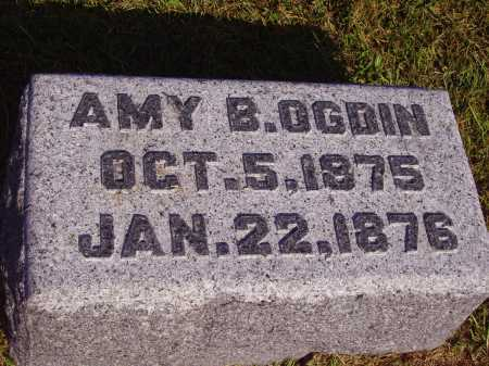 OGDIN, AMY B. - Meigs County, Ohio | AMY B. OGDIN - Ohio Gravestone Photos