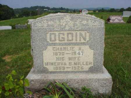 OGDIN, MINERVA B. - Meigs County, Ohio | MINERVA B. OGDIN - Ohio Gravestone Photos