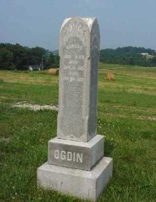 OGDIN, DORCUS - Meigs County, Ohio | DORCUS OGDIN - Ohio Gravestone Photos