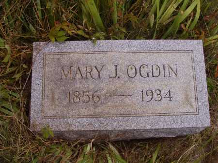 OGDIN, MARY J. - Meigs County, Ohio | MARY J. OGDIN - Ohio Gravestone Photos