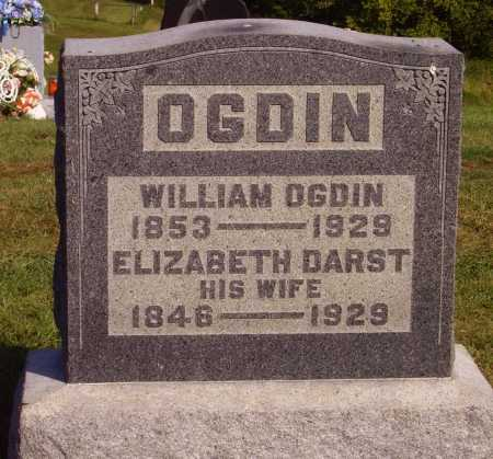 OGDIN, WILLIAM - Meigs County, Ohio | WILLIAM OGDIN - Ohio Gravestone Photos