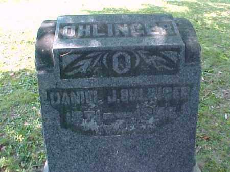 OHLINGER, DANIEL J. - Meigs County, Ohio | DANIEL J. OHLINGER - Ohio Gravestone Photos