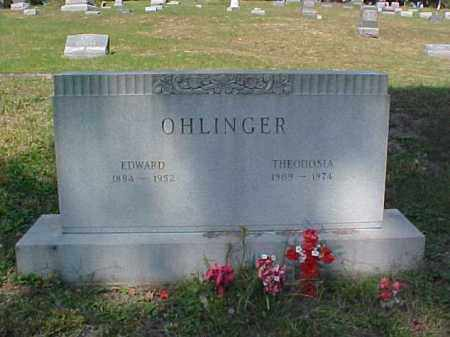 OHLINGER, THEODOSIA - Meigs County, Ohio | THEODOSIA OHLINGER - Ohio Gravestone Photos