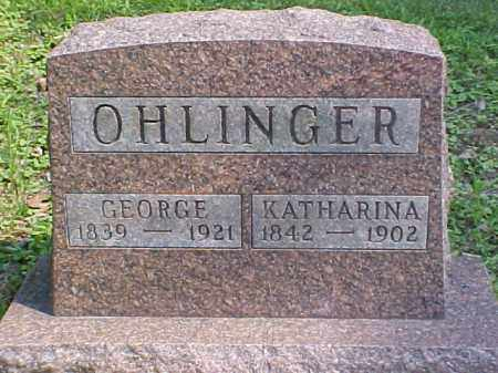 OHLINGER, GEORGE - Meigs County, Ohio | GEORGE OHLINGER - Ohio Gravestone Photos