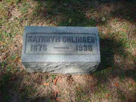OHLINGER, KATHRYN - Meigs County, Ohio | KATHRYN OHLINGER - Ohio Gravestone Photos