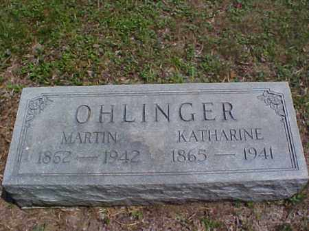 OHLINGER, MARTIN - Meigs County, Ohio | MARTIN OHLINGER - Ohio Gravestone Photos