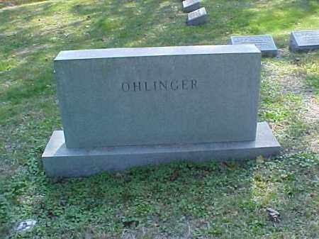 OHLINGER, MONUMENT - Meigs County, Ohio | MONUMENT OHLINGER - Ohio Gravestone Photos