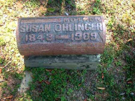 OHLINGER, SUSAN - Meigs County, Ohio   SUSAN OHLINGER - Ohio Gravestone Photos