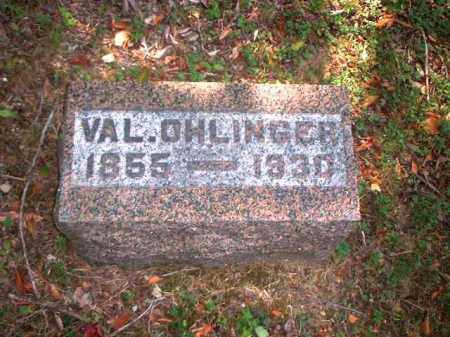 OHLINGER, VAL. - Meigs County, Ohio | VAL. OHLINGER - Ohio Gravestone Photos
