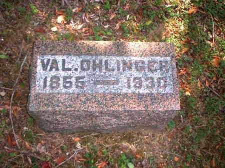 OHLINGER, VAL. - Meigs County, Ohio | VAL. OHLINGER - Ohio Gravestone Photos