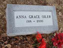 OILER, ANNA GRACE - Meigs County, Ohio | ANNA GRACE OILER - Ohio Gravestone Photos