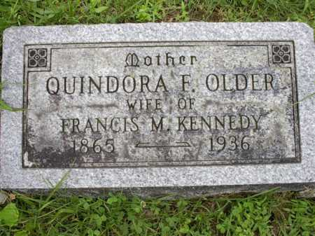 OLDER, QUINDORA F. - Meigs County, Ohio | QUINDORA F. OLDER - Ohio Gravestone Photos