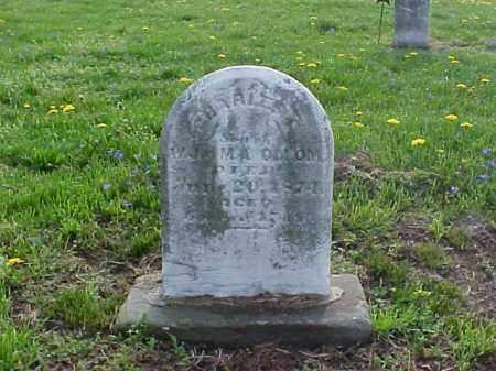 OLLOM, CHARLES E. - Meigs County, Ohio | CHARLES E. OLLOM - Ohio Gravestone Photos