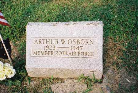 OSBORN, ARTHUR - Meigs County, Ohio | ARTHUR OSBORN - Ohio Gravestone Photos