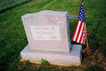 OSBORN, CLIFFORD - Meigs County, Ohio | CLIFFORD OSBORN - Ohio Gravestone Photos