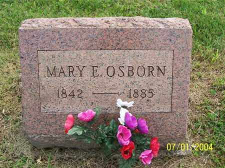 OSBORN, MARY - Meigs County, Ohio | MARY OSBORN - Ohio Gravestone Photos