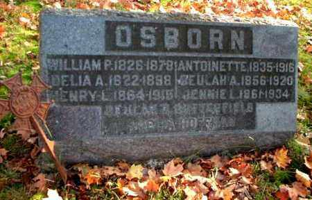 OSBORN, WILLIAM P. - Meigs County, Ohio | WILLIAM P. OSBORN - Ohio Gravestone Photos