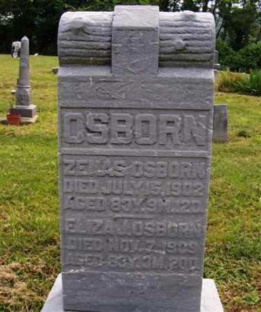 OSBORN, ELIZA - Meigs County, Ohio | ELIZA OSBORN - Ohio Gravestone Photos