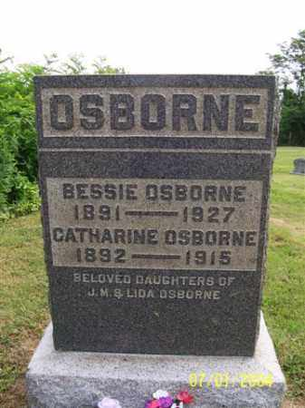 OSBORNE, CATHARINE - Meigs County, Ohio | CATHARINE OSBORNE - Ohio Gravestone Photos