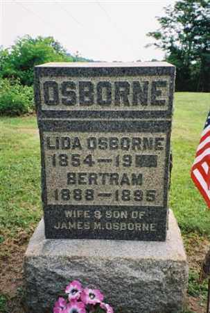 OSBORNE, LIDA - Meigs County, Ohio | LIDA OSBORNE - Ohio Gravestone Photos