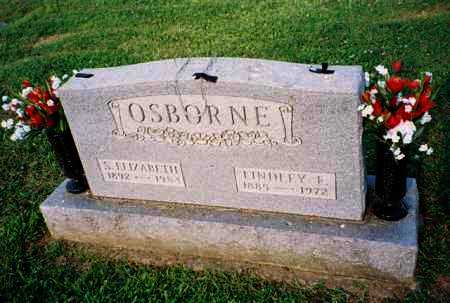 OSBORNE, LINDLEY - Meigs County, Ohio | LINDLEY OSBORNE - Ohio Gravestone Photos