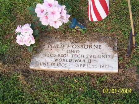 OSBORNE, PHILIP - Meigs County, Ohio | PHILIP OSBORNE - Ohio Gravestone Photos