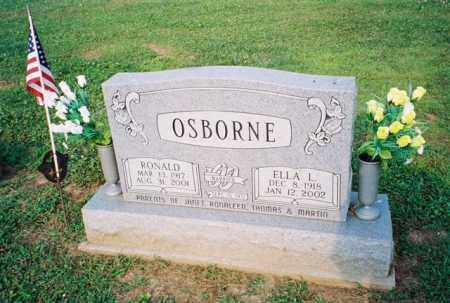OSBORNE, ELLA LESSYE - Meigs County, Ohio | ELLA LESSYE OSBORNE - Ohio Gravestone Photos