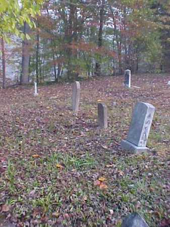 OVERVIEW, BAKER CEMETERY - Meigs County, Ohio | BAKER CEMETERY OVERVIEW - Ohio Gravestone Photos