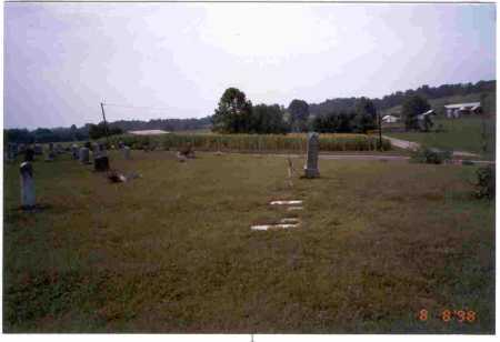 OVERVIEW, SCHOOL LOT CEMETERY - Meigs County, Ohio | SCHOOL LOT CEMETERY OVERVIEW - Ohio Gravestone Photos