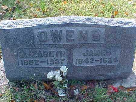 OWENS, JAMES - Meigs County, Ohio | JAMES OWENS - Ohio Gravestone Photos