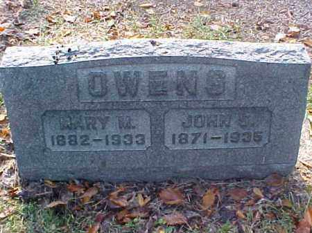 OWENS, JOHN S. - Meigs County, Ohio | JOHN S. OWENS - Ohio Gravestone Photos