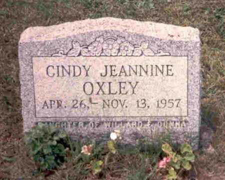 OXLEY, CINDY JEANNINE - Meigs County, Ohio | CINDY JEANNINE OXLEY - Ohio Gravestone Photos