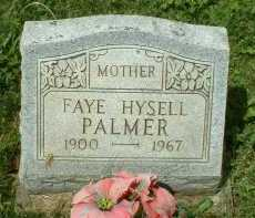 PALMER, FAYE - Meigs County, Ohio | FAYE PALMER - Ohio Gravestone Photos
