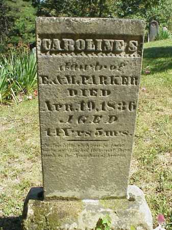 PARKER, CAROLINE S. - Meigs County, Ohio | CAROLINE S. PARKER - Ohio Gravestone Photos