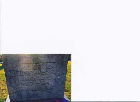 PARKER, MAJOR L - Meigs County, Ohio | MAJOR L PARKER - Ohio Gravestone Photos