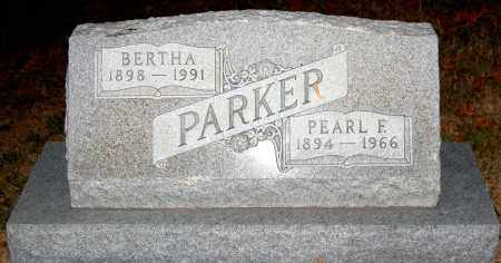 PARKER, PEARL F. - Meigs County, Ohio | PEARL F. PARKER - Ohio Gravestone Photos