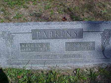 PARKINS, NATHAN M. - Meigs County, Ohio | NATHAN M. PARKINS - Ohio Gravestone Photos