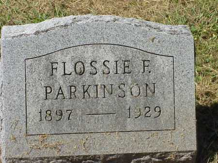 PARKINSON, FLOSSIE F. - Meigs County, Ohio | FLOSSIE F. PARKINSON - Ohio Gravestone Photos