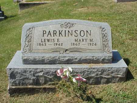 PARKINSON, LEWIS E. - Meigs County, Ohio | LEWIS E. PARKINSON - Ohio Gravestone Photos