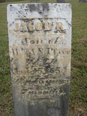 PFARR, JACOB - Meigs County, Ohio | JACOB PFARR - Ohio Gravestone Photos