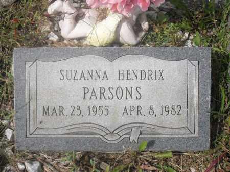 HENDRIX PARSONS, SUZANNA - Meigs County, Ohio | SUZANNA HENDRIX PARSONS - Ohio Gravestone Photos