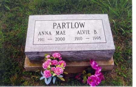 BAILEY PARTLOW, ANNA MAE - Meigs County, Ohio | ANNA MAE BAILEY PARTLOW - Ohio Gravestone Photos