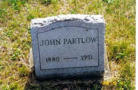 PARTLOW, JOHN - Meigs County, Ohio | JOHN PARTLOW - Ohio Gravestone Photos