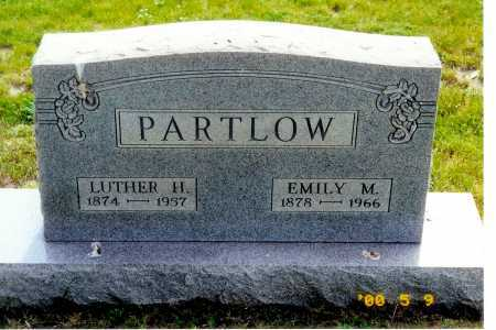 PARTLOW, LUTHER H. - Meigs County, Ohio | LUTHER H. PARTLOW - Ohio Gravestone Photos