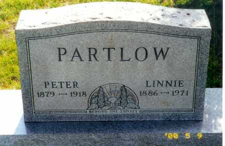PARTLOW, LINNIE - Meigs County, Ohio | LINNIE PARTLOW - Ohio Gravestone Photos